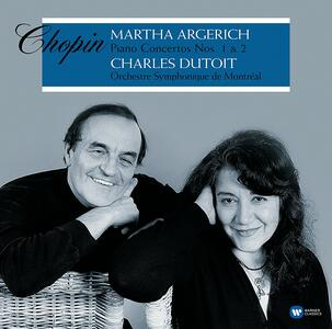 Concerti per pianoforte - Vinile LP di Fryderyk Franciszek Chopin,Martha Argerich,Charles Dutoit,Orchestra Sinfonica di Montreal