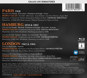 Parigi 1958. Amburgo 1959 e 1962. Londra 1962 e 1964 (3 Blu-ray) - Blu-ray - 2