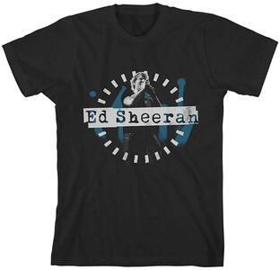 T-Shirt Ed Sheeran. Dashed Stage Photo Juniors Nero L