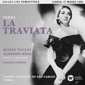 CD La traviata. Lisbona 27 marzo 1958 Maria Callas Alfredo Kraus Franco Ghione