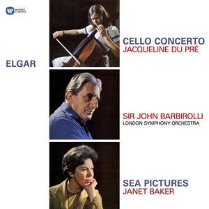 Concerto per violoncello - Sea Pictures - Vinile LP di Edward Elgar,Jacqueline du Pré,Sir John Barbirolli,London Symphony Orchestra
