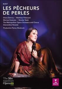 Georges Bizet. Les pêcheurs de perles di Penny Woolcock - Blu-ray