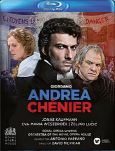 Umberto Giordano. Andrea Chenier di David McVicar - Blu-ray
