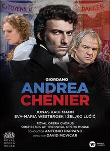 Umberto Giordano. Andrea Chenier di David McVicar - DVD