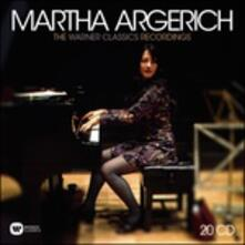 The Warner Classics Recordings (Box Set) - CD Audio di Martha Argerich