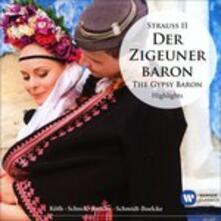 Lo zingaro barone (Der Zigeunerbaron) - CD Audio di Johann Strauss,Anneliese Rothenberger