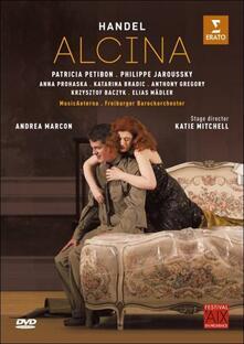 Georg Frideric Handel. Alcina di Katie Mitchell - Blu-ray