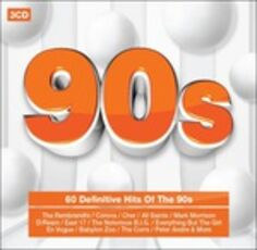 CD 90s. The Definitive Hits of the 90s