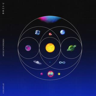 CD Music of the Spheres Coldplay