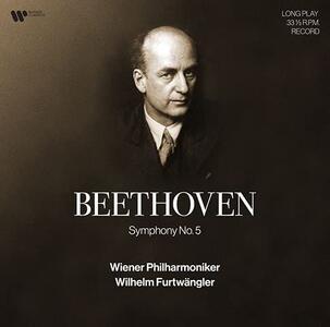 Vinile Sinfonia n.5 Ludwig van Beethoven Wilhelm Furtwängler Wiener Philharmoniker