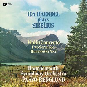 Vinile Concerto per violino - 2 Serenate Jean Sibelius Ida Haendel Bournemouth Symphony Orchestra