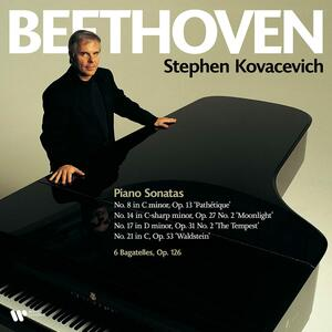 Vinile Sonate per pianoforte n.8, n.14, n.17, n.21 Ludwig van Beethoven Stephen Kovacevich