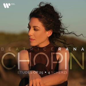 Vinile Studi op.25 - 4 Scherzi Fryderyk Franciszek Chopin Beatrice Rana