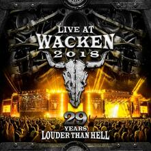Live at Wacken 2018. 29 Years Louder Than Hell - CD Audio + DVD