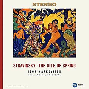La sagra della primavera (The Rite of Spring) - Vinile LP di Igor Stravinsky,Igor Markevitch,Philharmonia Orchestra