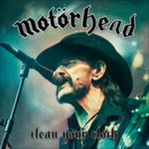 Clean Your Clock - Vinile LP di Motorhead