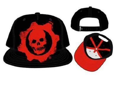 Cappellino Gears Of War. Embroidered Logo Snapback