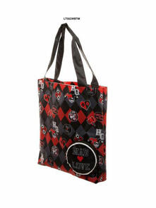 Borsa Harley Quinn. Property Of The Joker Logo