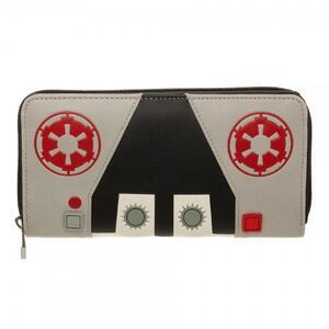 Portafoglio Star Wars. Galactic Empire Logo Zip Multicolor