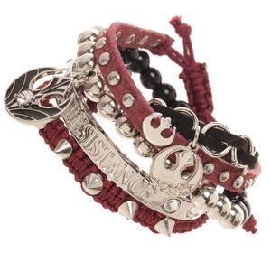 Braccialetto Star Wars. Resistance Arm Party Bracelet. Red/Metal