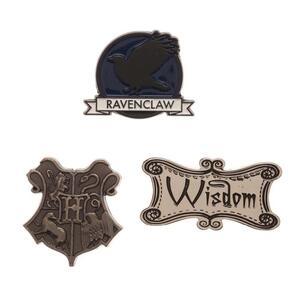 Pin Set Harry Potter. Ravenclaw Label