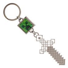 Portachiavi Minecraft. Creeper & Sword