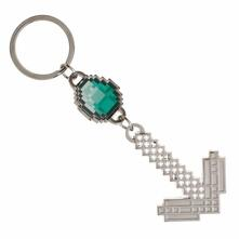 Portachiavi Minecraft. Diamond & Pickaxe