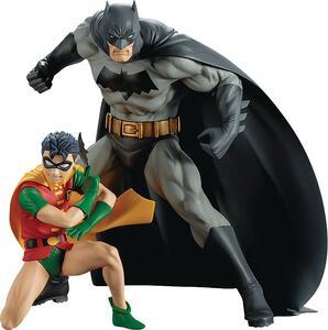 Dc Universe Batman & Robin Artfx+ St 2P - 2