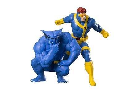 Figure Cyclops & Beast Two Pack Artfx - 8