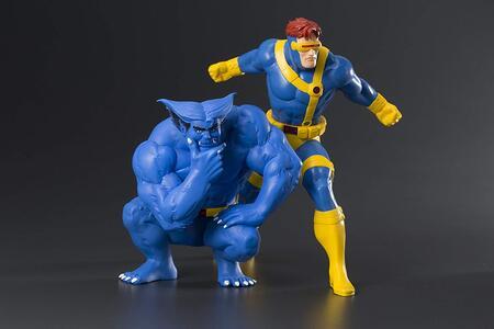 Figure Cyclops & Beast Two Pack Artfx - 9