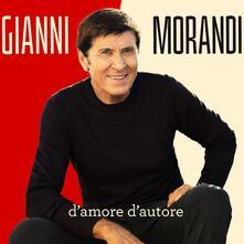 D'amore d'autore - CD Audio di Gianni Morandi