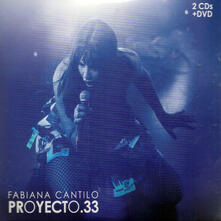 Proyecto 33 - CD Audio di Fabiana Cantilo