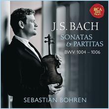Sonate e partite - CD Audio di Johann Sebastian Bach,Sebastian Bohren