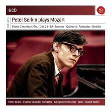 Peter Serkin Plays Mozart - CD Audio di Wolfgang Amadeus Mozart,Peter Serkin