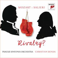 Mozart vs. Salieri - CD Audio di Wolfgang Amadeus Mozart,Antonio Salieri,Christian Benda,Prague Sinfonia