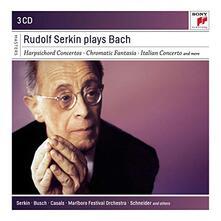 Rudolf Serkin Plays Bach - CD Audio di Johann Sebastian Bach,Rudolf Serkin