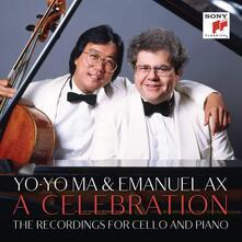 A Celebration. The Recordings for Cello and Piano (Box Set) - CD Audio di Yo-Yo Ma,Emanuel Ax