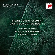 Concerti per violino n.1, n.2 - CD Audio di Reinhard Goebel,WDR Symphony Orchestra,Franz Clement