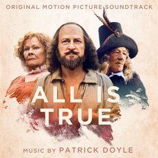 CD All Is True (Colonna Sonora) Patrick Doyle