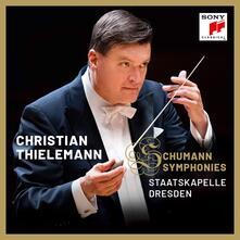 Sinfonie - CD Audio di Robert Schumann,Christian Thielemann,Staatskapelle Dresda