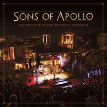 Live with the Plovdiv Psychotic Symphony - CD Audio + DVD + Blu-ray di Sons of Apollo