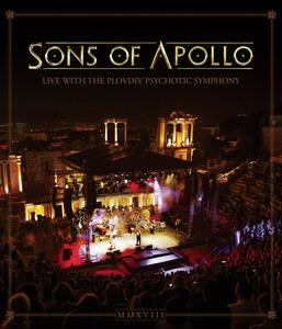 Live with the Plovdiv Psychotic Symphony (Blu-ray) - Blu-ray
