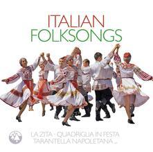 Italian Folksongs - CD Audio