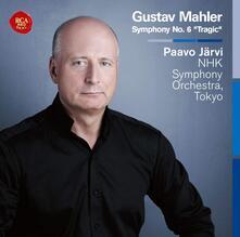 Sinfonia n.6 - CD Audio di Gustav Mahler,Paavo Järvi,NHK Symphony Orchestra