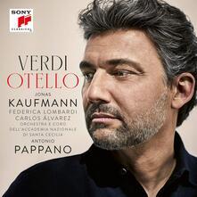 Otello - CD Audio di Giuseppe Verdi,Antonio Pappano,Orchestra dell'Accademia di Santa Cecilia,Jonas Kaufmann,Carlos Alvarez