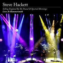 Selling England by the Pound & Spectral Mornings. Live at Hammersmith - Vinile LP + CD Audio di Steve Hackett
