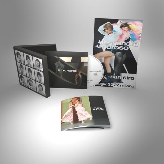 Tutto accade ( + Poster) - CD Audio di Alessandra Amoroso - 2