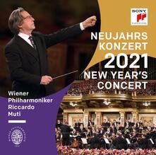 Neujahrskonzert 2021 (New Year's Concert) - CD Audio di Riccardo Muti,Wiener Philharmoniker