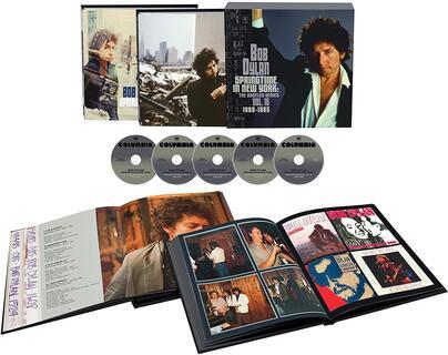 CD Springtime in New York. The Bootleg Series vol.16 (Box Set) Bob Dylan