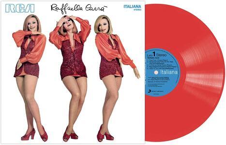 Vinile Raffaella Carrà (Red Coloured Vinyl) Raffaella Carrà